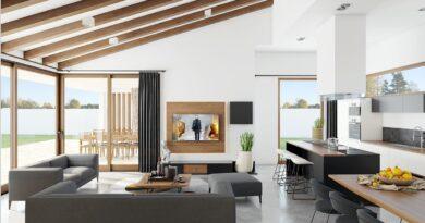Földszintes családi ház modern lakberendezéssel egy horvát tervezőtől