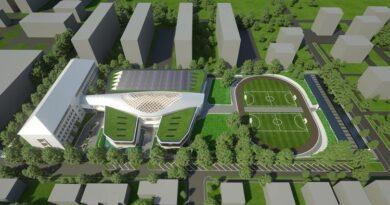 Hatalmas zöldfelülettel születik újjá a csepeli oktatási intézmény